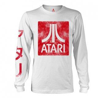 ATARI Box Logo White, ロングTシャツ