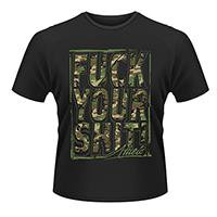 ATTILA Fuck your shit, Tシャツ
