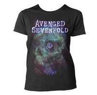 AVENGED SEVENFOLD Space face, レディースTシャツ