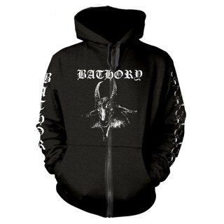 BATHORY Goat, Zip-Upパーカー