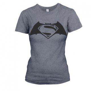 BATMAN VS SUPERMAN Superbatman, レディースTシャツ
