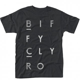 BIFFY CLYRO Blocks Logo, Tシャツ