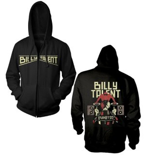 BILLY TALENT Louder Than The Dj, Zip-Upパーカー