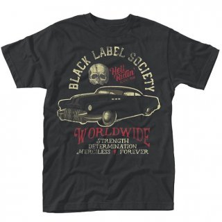 BLACK LABEL SOCIETY Hell Riding Hot Rod, Tシャツ