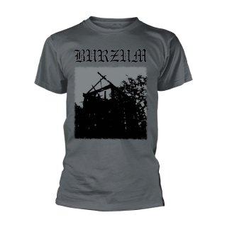 BURZUM Aske (grey), Tシャツ
