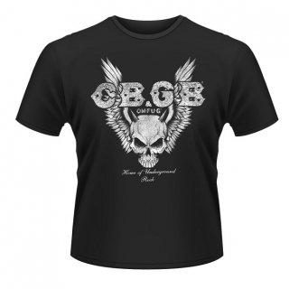 CBGB Skull Wings, Tシャツ