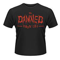 THE DAMNED Friday 13th, Tシャツ