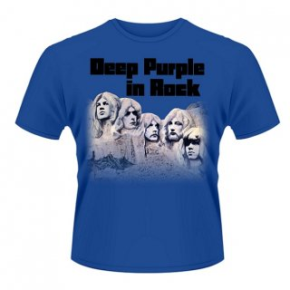 DEEP PURPLE In Rock Blu, Tシャツ