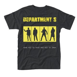 DEPARTMENT S Said And Done, Tシャツ