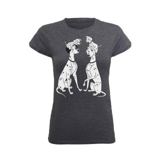 DISNEY 101 Dalmations Family, レディースTシャツ