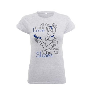 DISNEY Princess Cinderella, レディースTシャツ
