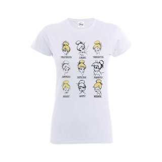 DISNEY Tinker Bell Moods, レディースTシャツ