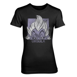 DISNEY Ursula, レディースTシャツ