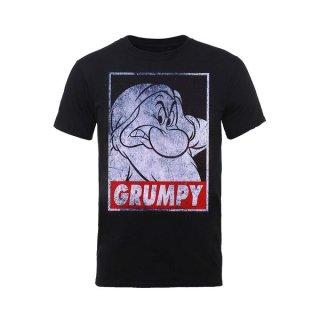 DISNEY Snow White Grumpy Dwarf Poster, Tシャツ