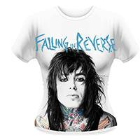 FALLING IN REVERSE Ronnie tattoos, レディースTシャツ