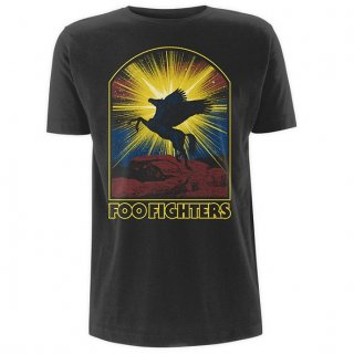 FOO FIGHTERS Winged Hhorse, Tシャツ