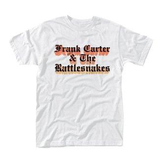 FRANK CARTER & THE RATTLESNAKES Gradient White, Tシャツ