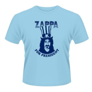 FRANK ZAPPA Zappa For President (blue), Tシャツ