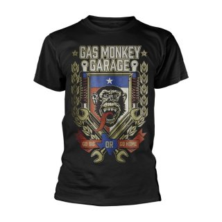 GAS MONKEY GARAGE Go big or go home, Tシャツ