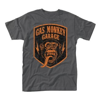 GAS MONKEY GARAGE Shield, Tシャツ