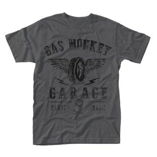 GAS MONKEY GARAGE Tyres parts service, Tシャツ