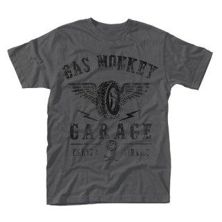 GAS MONKEY GARAGE Tyres Parts Service, Tシャツ