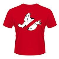 GHOSTBUSTERS Logo Red, Tシャツ