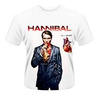 HANNIBAL Fig. 1 heart White, Tシャツ