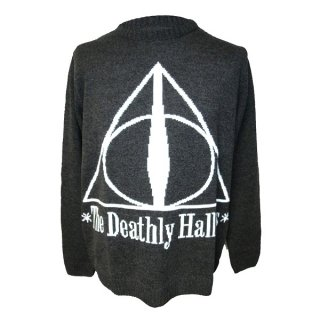 HARRY POTTER The deathly hallows (knitted), セーター