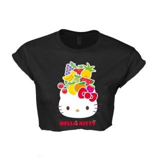 HELLO KITTY Fruit (cropped), レディースTシャツ