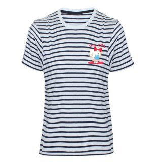 HELLO KITTY Striped, Tシャツ