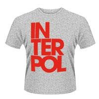 INTERPOL Stacked logo, Tシャツ
