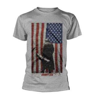 JOHNNY CASH American Flag, Tシャツ