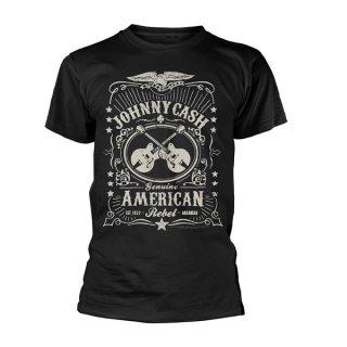 JOHNNY CASH American rebel 2, Tシャツ