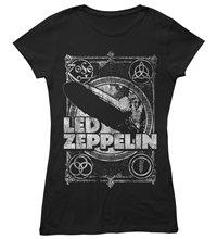 LED ZEPPELIN Shook me, レディースTシャツ