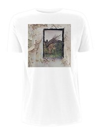 LED ZEPPELIN Iv album cover, Tシャツ