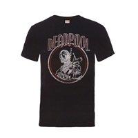 DEADPOOL Deadpool Vintage Circle, Tシャツ