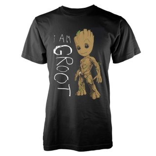 GUARDIANS OF THE GALAXY I Am Groot Scribbles, Tシャツ