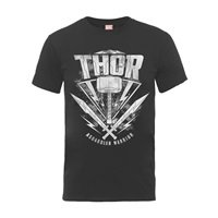 THOR RAGNAROK Thor hammer logo, Tシャツ