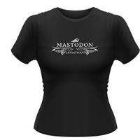 MASTODON Leviathan logo, レディースTシャツ