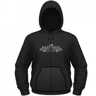 MASTODON Leviathan Logo, Zip-Upパーカー