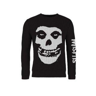 MISFITS Skull, セーター