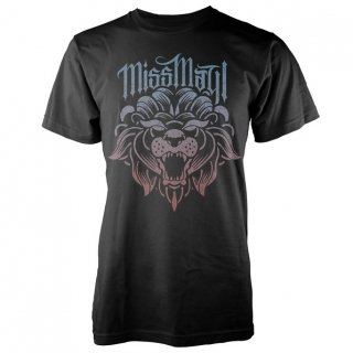 MISS MAY I Fade Lion, Tシャツ