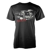 NARCOS Sheep or wolf, Tシャツ
