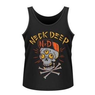 NECK DEEP Skulls, タンクトップ