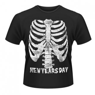 NEW YEARS DAY Ribcage, Tシャツ
