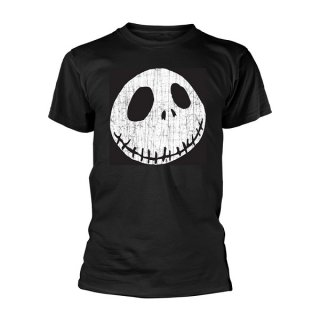 THE NIGHTMARE BEFORE CHRISTMAS Cracked face, Tシャツ