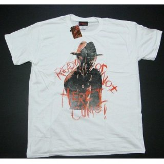A NIGHTMARE ON ELM STREET Ready or not, Tシャツ