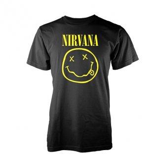 NIRVANA Smiley logo, Tシャツ