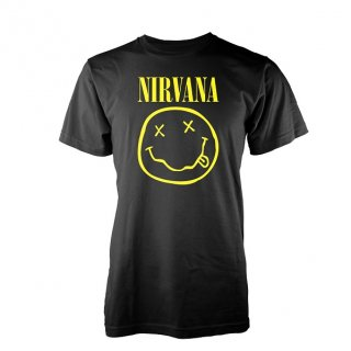 NIRVANA Smiley Logo, Tシャツ